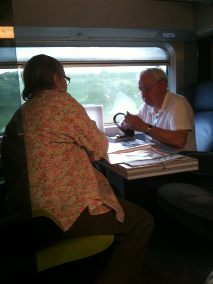 romance on the train