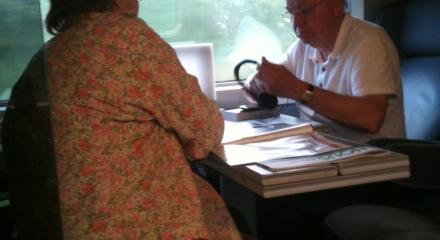 romance on the train