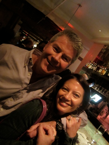 Richard and Sabine - many thanks for such a brilliant stay!